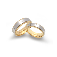 Kumbuchia Co Ltd white gold wedding rings sets